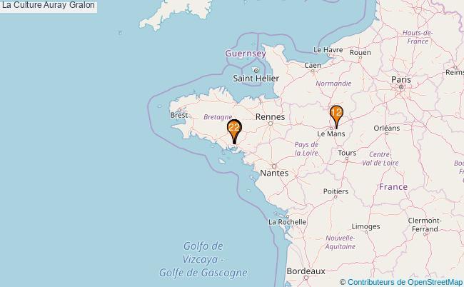 plan La Culture Auray Associations La Culture Auray : 21 associations