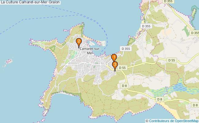 plan La Culture Camaret-sur-Mer Associations La Culture Camaret-sur-Mer : 3 associations