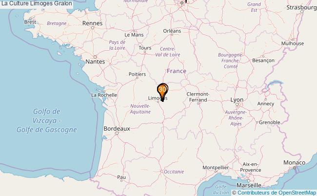 plan La Culture Limoges Associations La Culture Limoges : 177 associations