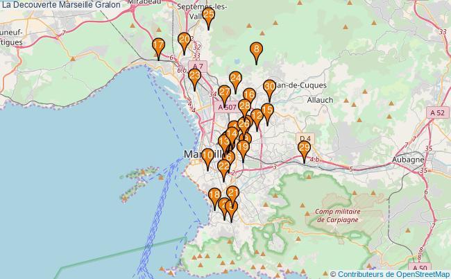 plan La Decouverte Marseille Associations La Decouverte Marseille : 214 associations