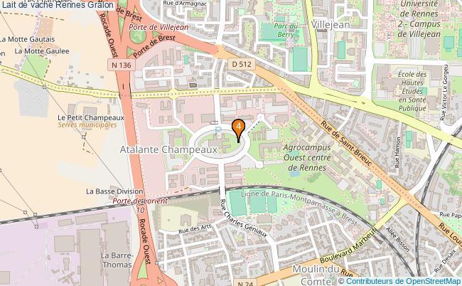 plan Lait de vache Rennes Associations lait de vache Rennes : 4 associations
