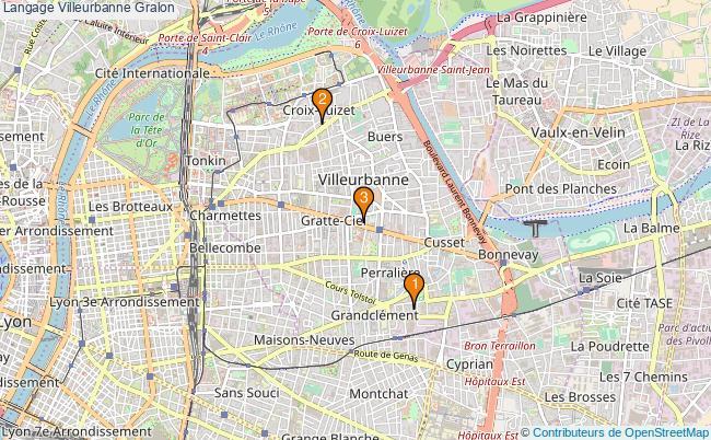 plan Langage Villeurbanne Associations langage Villeurbanne : 4 associations