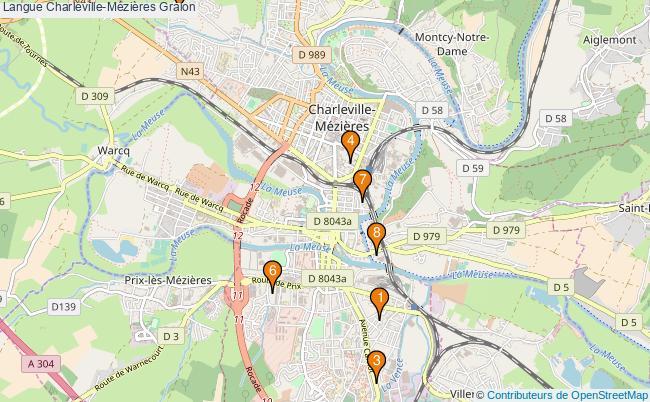 plan Langue Charleville-Mézières Associations langue Charleville-Mézières : 8 associations