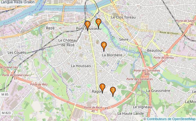 plan Langue Rezé Associations langue Rezé : 5 associations