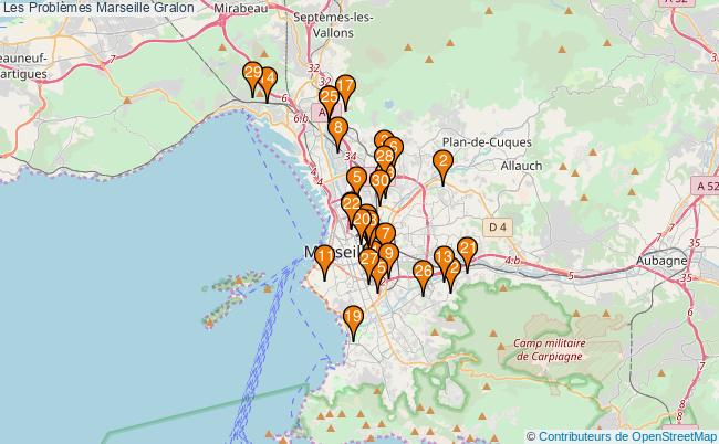 plan Les Problèmes Marseille Associations Les Problèmes Marseille : 81 associations