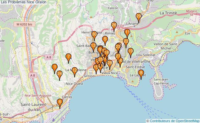 plan Les Problèmes Nice Associations Les Problèmes Nice : 35 associations