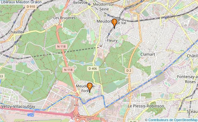 plan Libéraux Meudon Associations libéraux Meudon : 3 associations