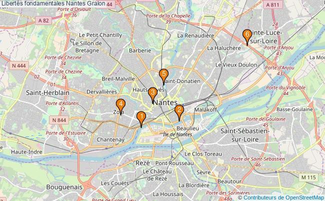 plan Libertés fondamentales Nantes Associations libertés fondamentales Nantes : 6 associations