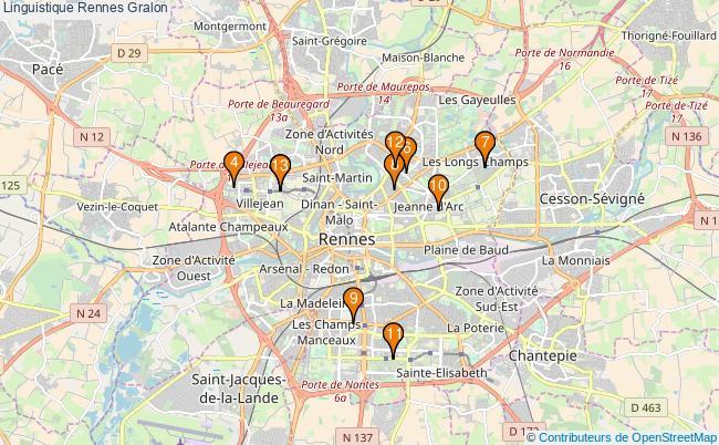 plan Linguistique Rennes Associations linguistique Rennes : 13 associations