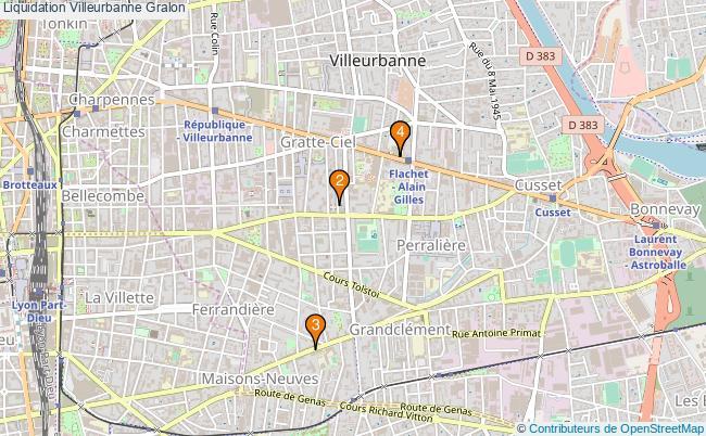 plan Liquidation Villeurbanne Associations Liquidation Villeurbanne : 4 associations
