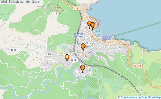 plan Loisir Banyuls-sur-Mer Associations loisir Banyuls-sur-Mer : 5 associations