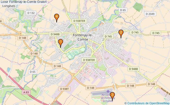 plan Loisir Fontenay-le-Comte Associations loisir Fontenay-le-Comte : 4 associations