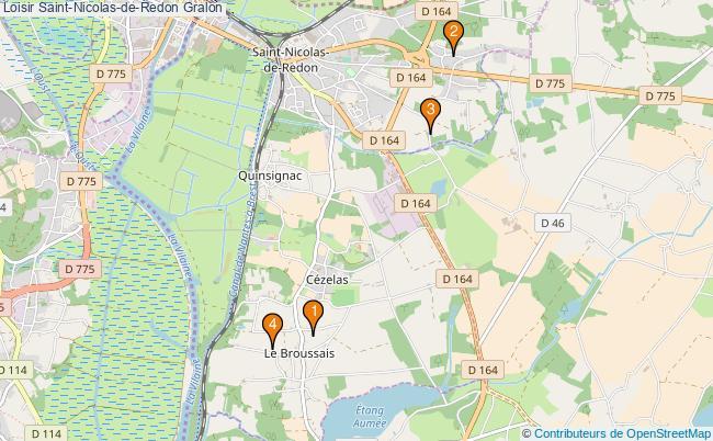 plan Loisir Saint-Nicolas-de-Redon Associations loisir Saint-Nicolas-de-Redon : 4 associations
