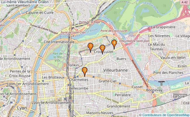 plan Lui-même Villeurbanne Associations Lui-même Villeurbanne : 4 associations