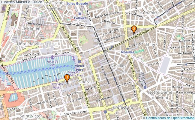 plan Lunettes Marseille Associations Lunettes Marseille : 3 associations