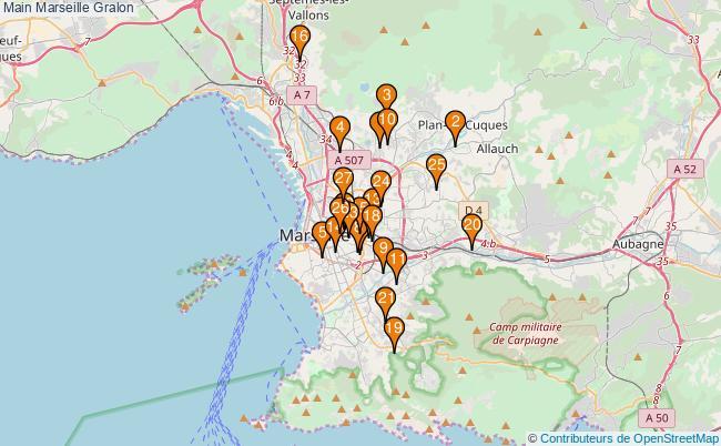 plan Main Marseille Associations Main Marseille : 31 associations