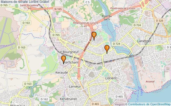 plan Maisons de retraite Lorient Associations maisons de retraite Lorient : 3 associations
