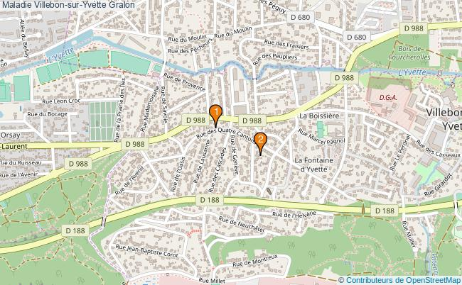 plan Maladie Villebon-sur-Yvette Associations Maladie Villebon-sur-Yvette : 2 associations