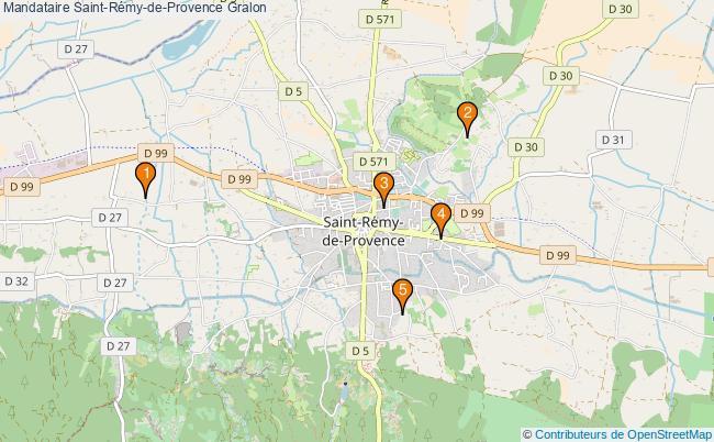 plan Mandataire Saint-Rémy-de-Provence Associations mandataire Saint-Rémy-de-Provence : 5 associations