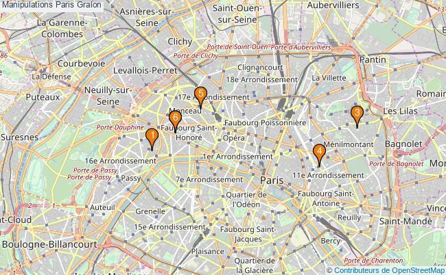 plan Manipulations Paris Associations Manipulations Paris : 10 associations