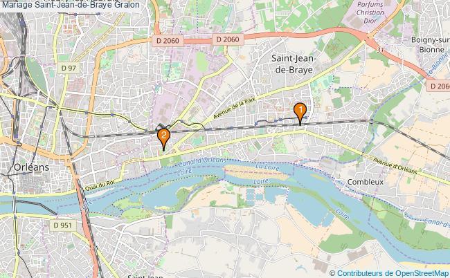 plan Mariage Saint-Jean-de-Braye Associations mariage Saint-Jean-de-Braye : 2 associations