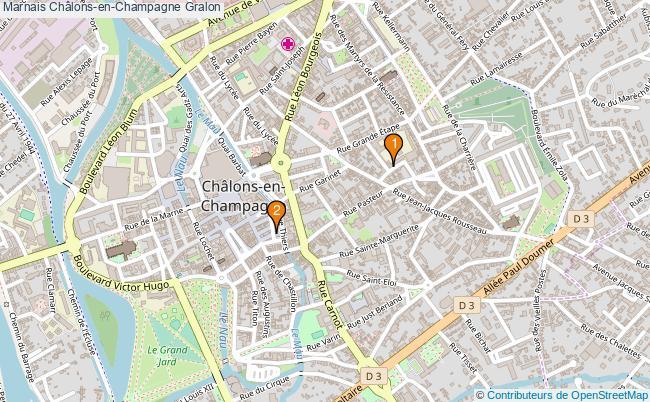 plan Marnais Châlons-en-Champagne Associations marnais Châlons-en-Champagne : 2 associations