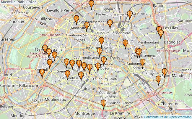 plan Marocain Paris Associations marocain Paris : 64 associations