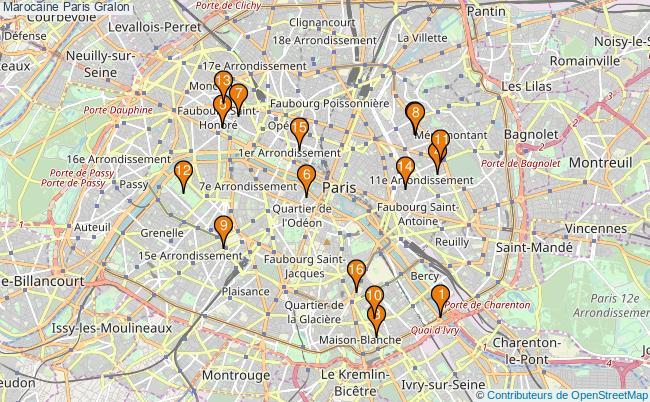 plan Marocaine Paris Associations marocaine Paris : 17 associations