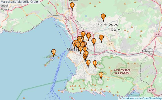 plan Marseillaise Marseille Associations Marseillaise Marseille : 77 associations