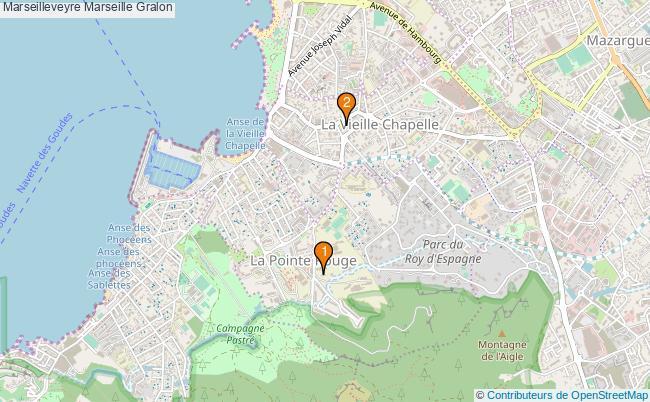 plan Marseilleveyre Marseille Associations marseilleveyre Marseille : 2 associations