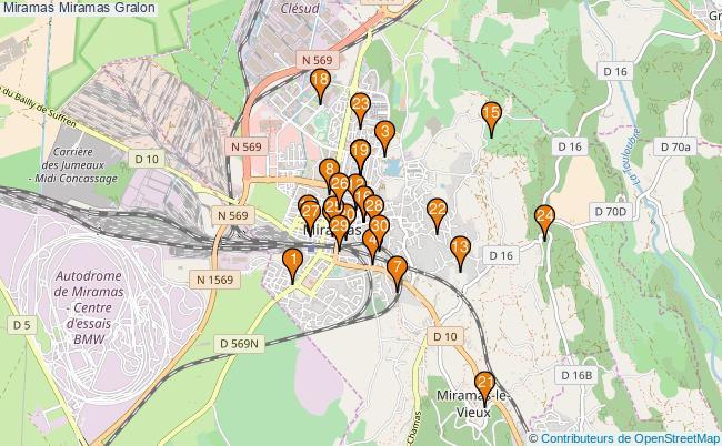 plan Miramas Miramas Associations Miramas Miramas : 34 associations