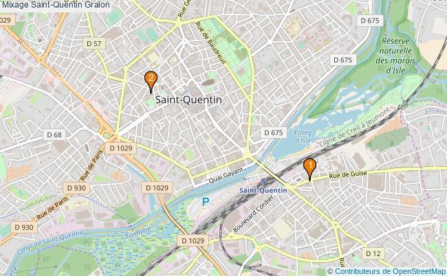 plan Mixage Saint-Quentin Associations mixage Saint-Quentin : 2 associations