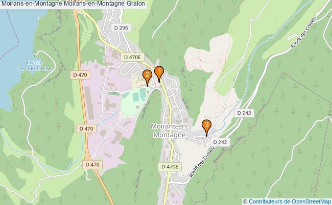 plan Moirans-en-Montagne Moirans-en-Montagne Associations Moirans-en-Montagne Moirans-en-Montagne : 3 associations