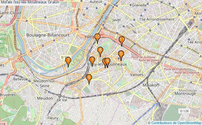 plan Morale Issy-les-Moulineaux Associations morale Issy-les-Moulineaux : 10 associations