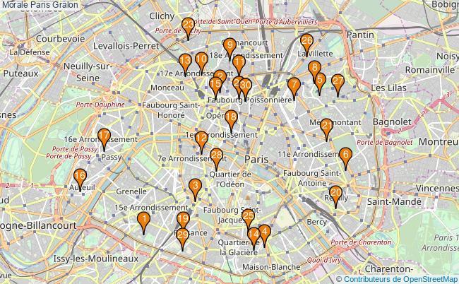 plan Morale Paris Associations morale Paris : 1046 associations