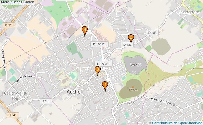 plan Moto Auchel Associations moto Auchel : 7 associations