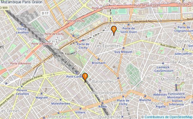 plan Mozambique Paris Associations Mozambique Paris : 3 associations