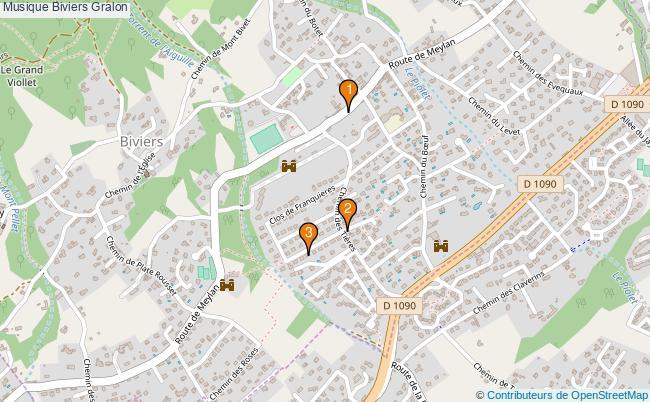 plan Musique Biviers Associations musique Biviers : 3 associations