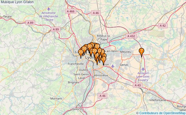 plan Musique Lyon Associations musique Lyon : 734 associations