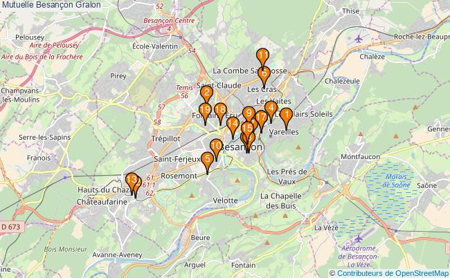 plan Mutuelle Besançon Associations mutuelle Besançon : 20 associations