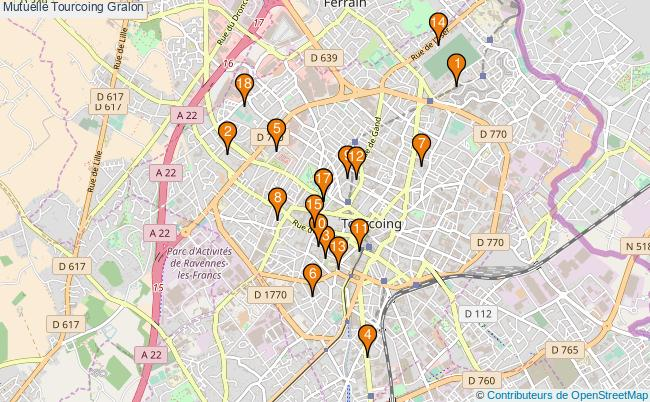 plan Mutuelle Tourcoing Associations mutuelle Tourcoing : 19 associations