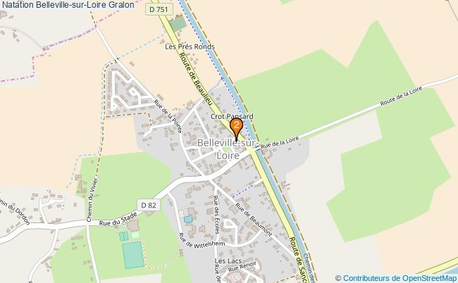 plan Natation Belleville-sur-Loire Associations natation Belleville-sur-Loire : 2 associations