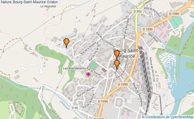 plan Nature Bourg-Saint-Maurice Associations Nature Bourg-Saint-Maurice : 5 associations