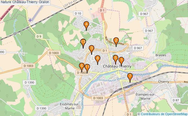 plan Nature Château-Thierry Associations Nature Château-Thierry : 13 associations