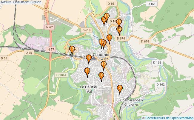 plan Nature Chaumont Associations Nature Chaumont : 19 associations