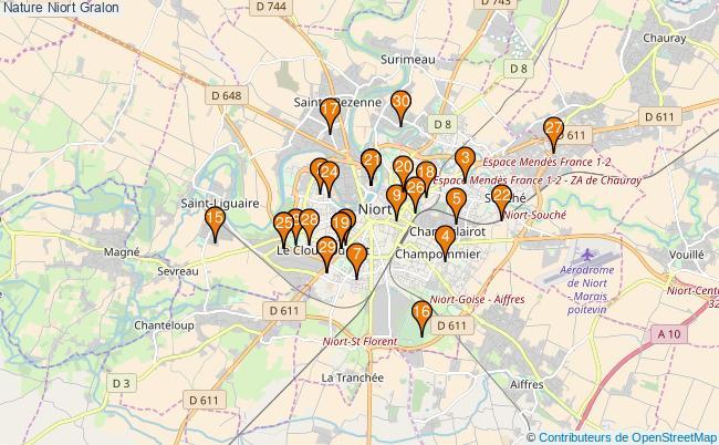 plan Nature Niort Associations Nature Niort : 43 associations