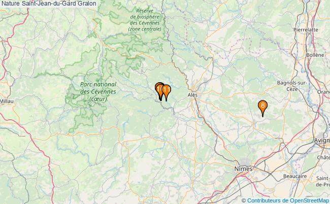 plan Nature Saint-Jean-du-Gard Associations Nature Saint-Jean-du-Gard : 12 associations