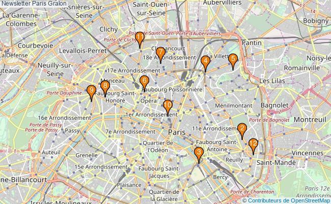 plan Newsletter Paris Associations newsletter Paris : 20 associations