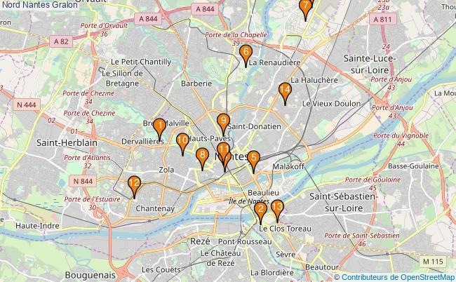 plan Nord Nantes Associations Nord Nantes : 14 associations