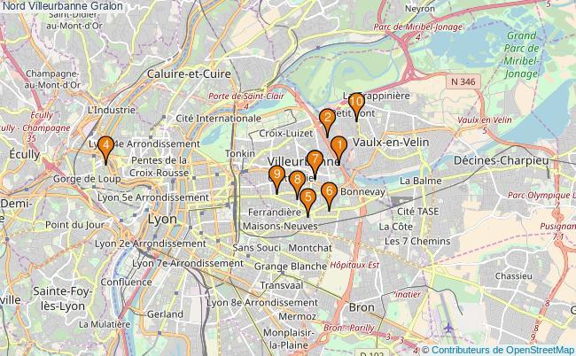 plan Nord Villeurbanne Associations Nord Villeurbanne : 11 associations